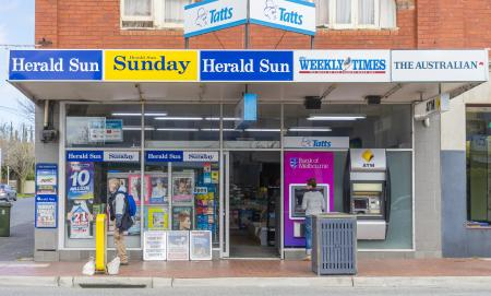 Melbourne Australia - August 30 2015: General store in Melbourne during daytime.